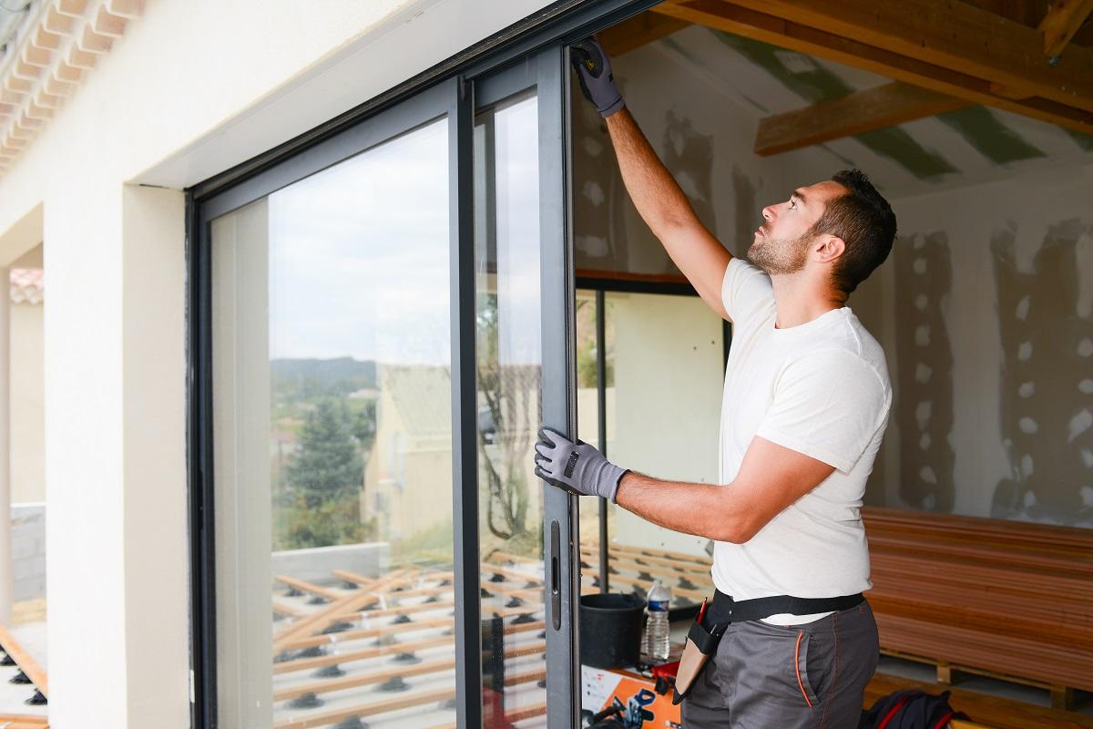 installing glass doors